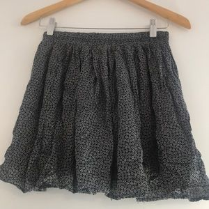 Brandy Melville Floral Luma Mini-Skirt